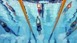 Los mundiales de natación, vistos con cámara subacuática