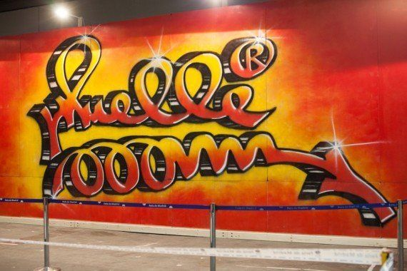 El graffiti olvidado de Muelle ve la luz en el Mulafest