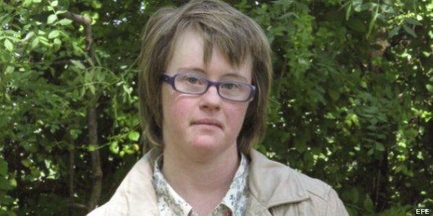 Ángela Bachiller, de Valladolid, la primera persona con síndrome de Down en convertirse en