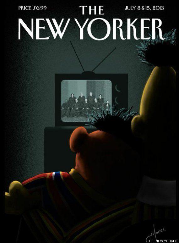 Epi y Blas en The New Yorker: portada para celebrar las bodas homosexuales