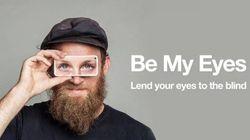 Be My Eyes: con el móvil presto mis