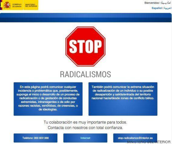 Interior estudia 29 avisos de ciudadanos el primer día de una campaña para detectar