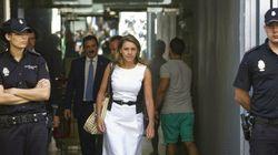 Cospedal, ante Ruz: Rajoy me informó