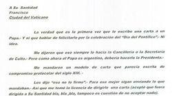 La peculiar carta de Cristina Fernández al Papa: