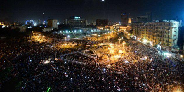Las tiendas de campaña vuelven a la plaza Tahrir en