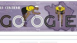 Google pedalea para celebrar el inicio del Tour de