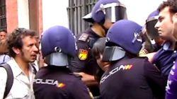 Desalojados cuatro concejales de Cádiz en un desahucio donde medió el