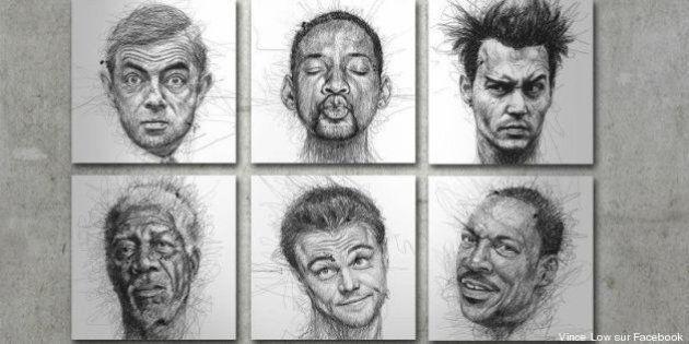Los dibujos de Vince Low: El garabato hecho arte