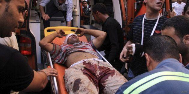 Al menos siete muertos y 600 heridos en Egipto durante las protestas contra