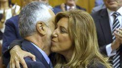 Susana Díaz, investida presidenta de la Junta: