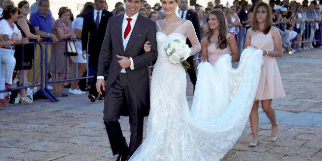 La boda 'a lo Aznar' de Carlos Baute y Astrid Klisans