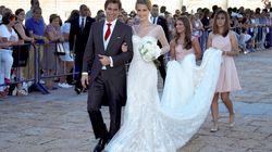 La boda 'a lo Aznar' de Carlos Baute
