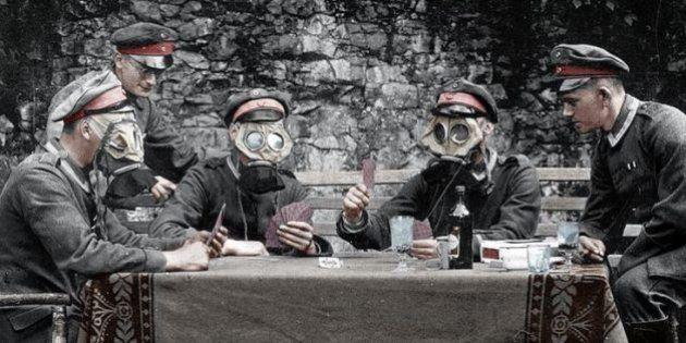 La Primera Guerra Mundial, a todo color