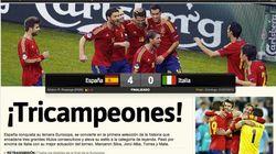 Así ven los medios la victoria de España