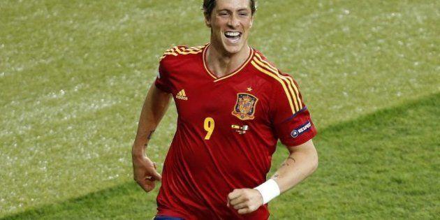 Fernando Torres, máximo goleador de la Eurocopa