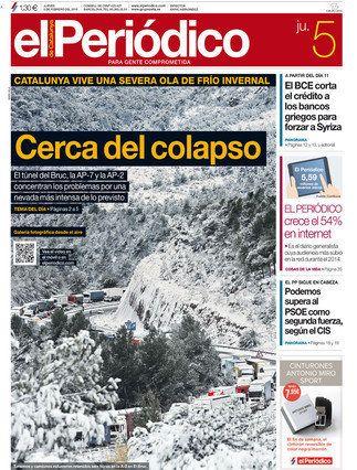 Revista de prensa: Olas de frío y