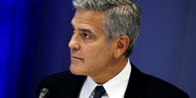 La reacción de Clooney al enterarse del divorcio de Brad Pitt y Angelina