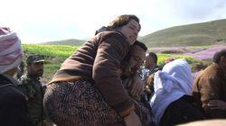 Huyendo del Estado Islámico: mujeres y niños iraquíes recuperan su libertad