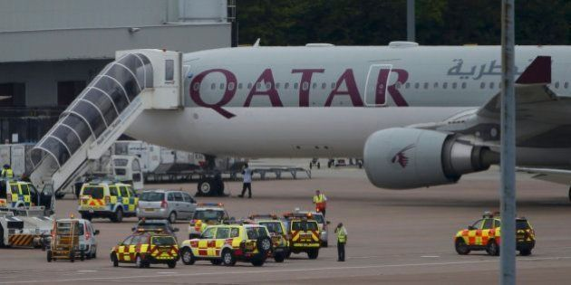 Un avión aterriza de emergencia en Manchester por una falsa amenaza de