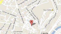 Derrumbe de un edificio en Lleida: los bomberos buscan posibles