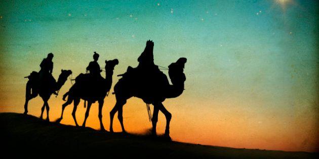 Así sería hoy el imposible viaje de los Reyes Magos a