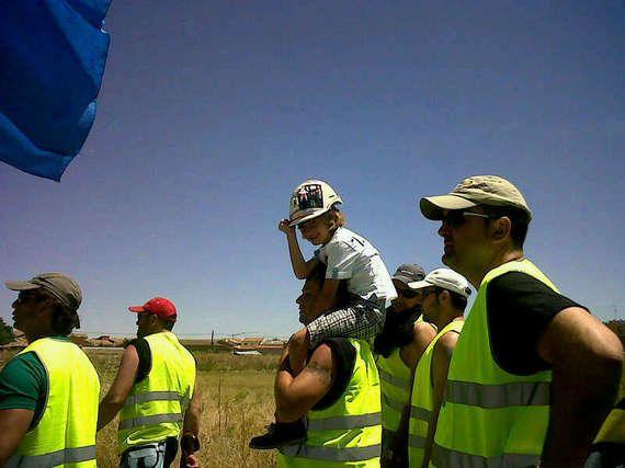 Diario de un minero asturiano: Desánimo en la marcha tras la reunión con el