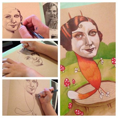 Mi hija de 4 años me ayudó a crear algo