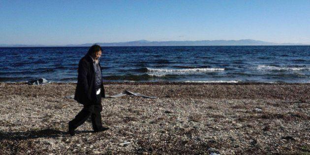 El artista chino Ai Weiwei crea un estudio en Lesbos como homenaje a los