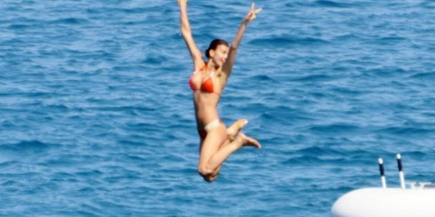Cristiano Ronaldo e Irina Shayk: vacaciones en yate en Saint Tropez