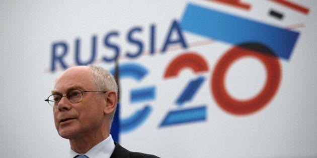 Herman Van Rompuy advierte al G-20 de que