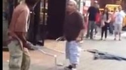 A 'muletazo' limpio en pleno Times Square