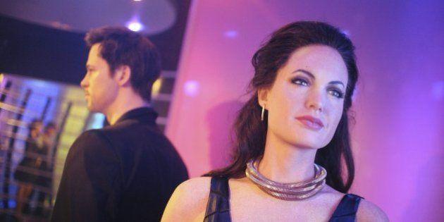 Brad Pitt y Angelina Jolie, separados en los museos de cera del