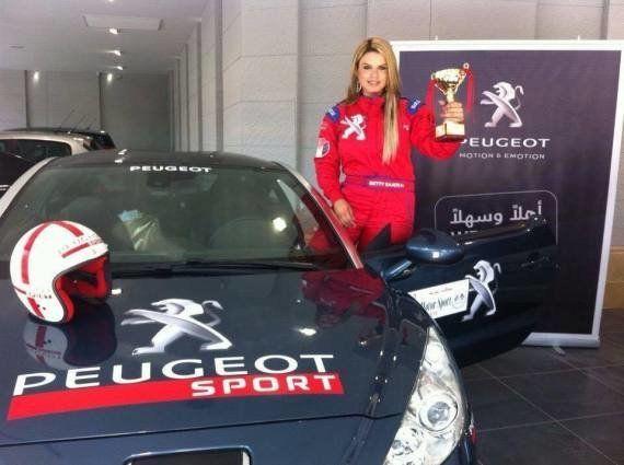 Unas jóvenes palestinas crean el primer equipo de rallies femenino de Medio