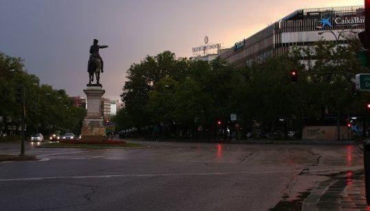 7 fotos que muestran Madrid vacío durante la