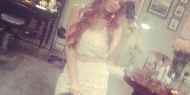 Lindsay Lohan: cambio de pelo y vuelta al pelirrojo tras encarnar a Elizabeth Taylor