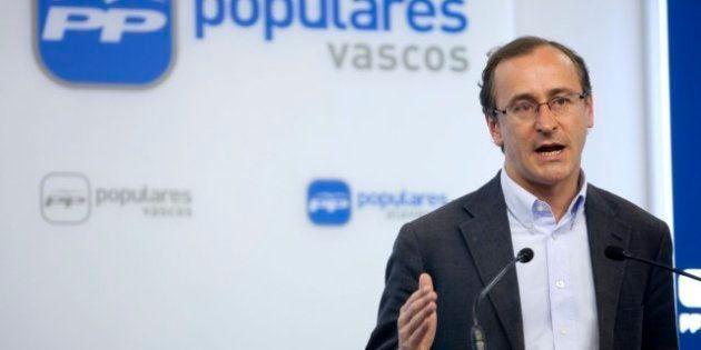 El portavoz del PP en el Congreso, Alfonso Alonso, dispuesto a que el Congreso investigue a