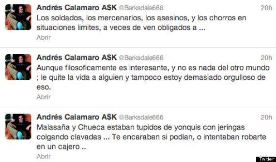El falso asesinato de Calamaro en Twitter revoluciona
