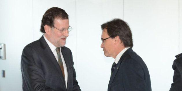 Rajoy y Mas se reunieron en secreto la semana pasada, según el diario