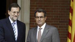Rajoy y Mas se reúnen en