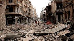 Paisajes de guerra en Siria... mientras la ONU lamenta lo