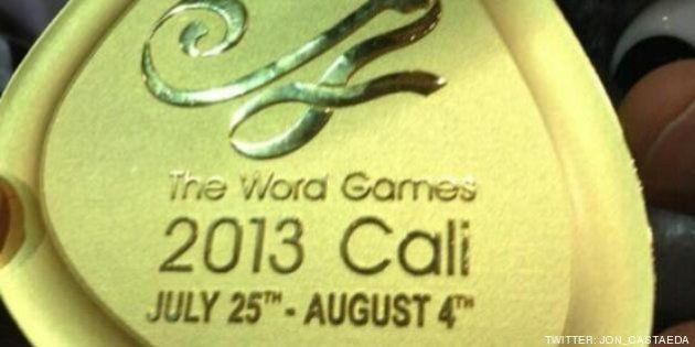Juegos Mundiales de Cali: Las medallas dicen 'Word Games' en lugar de 'World Games'