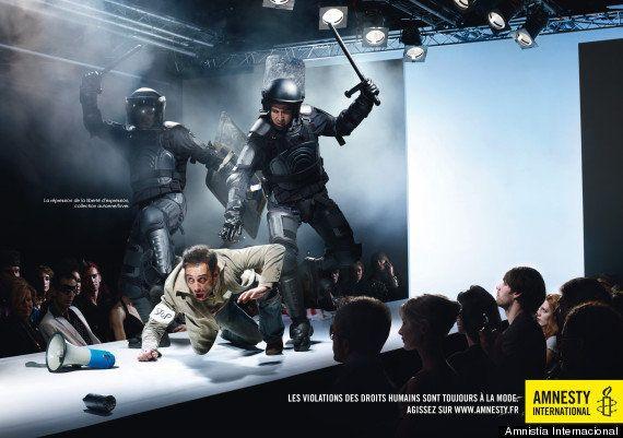 Amnistía Internacional lanzó en 2010 una campaña muy