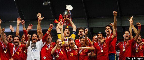 La selección española al