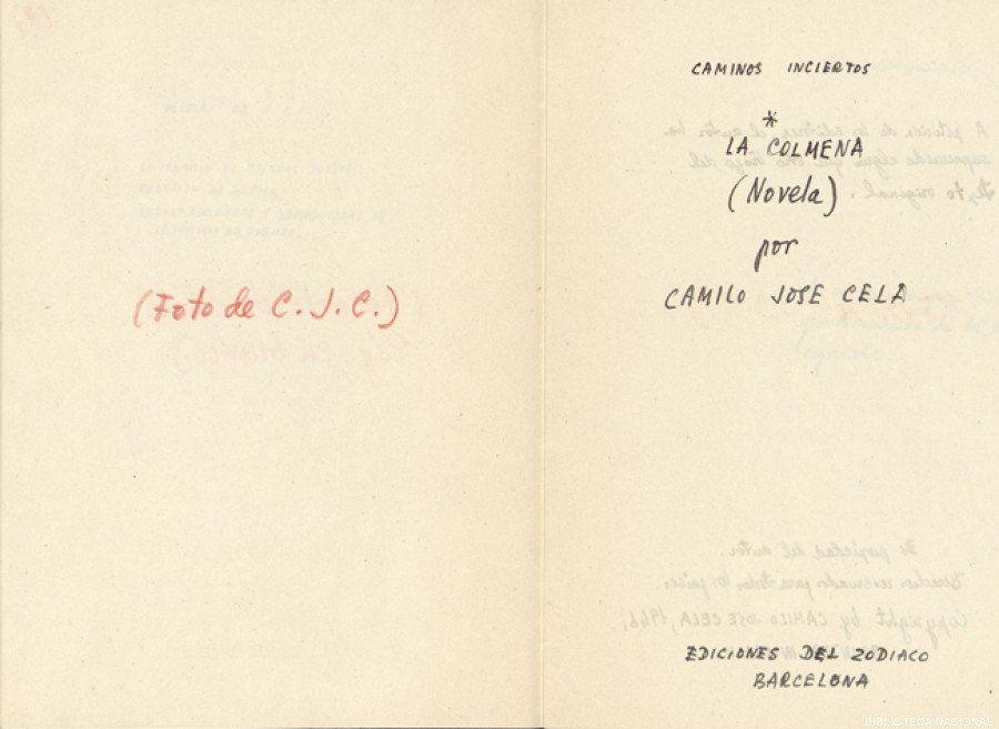 La Colmena: Encontrado un manuscrito sin censurar de la obra de