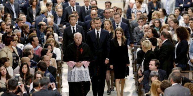Funeral de Estado por las víctimas del accidente de tren de Santiago