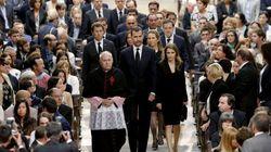Emotivo funeral por las víctimas de Santiago