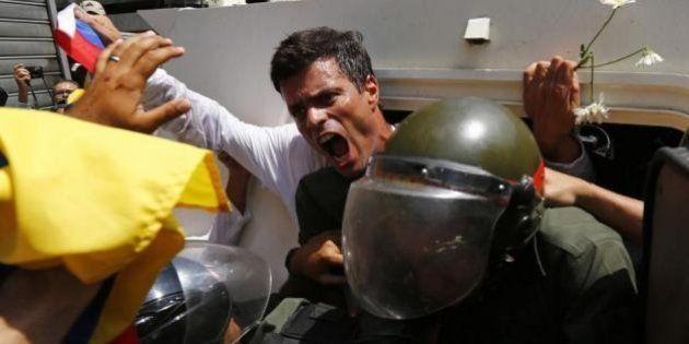 El opositor venezolano Leopoldo López abandona la huelga de