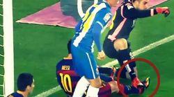 El feo pisotón a Messi que encendió el