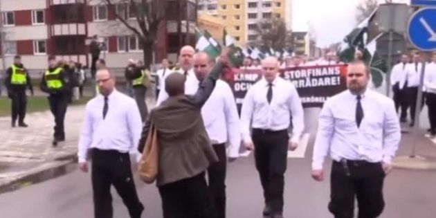 La mujer negra que se enfrentó a unos neonazis en Suecia