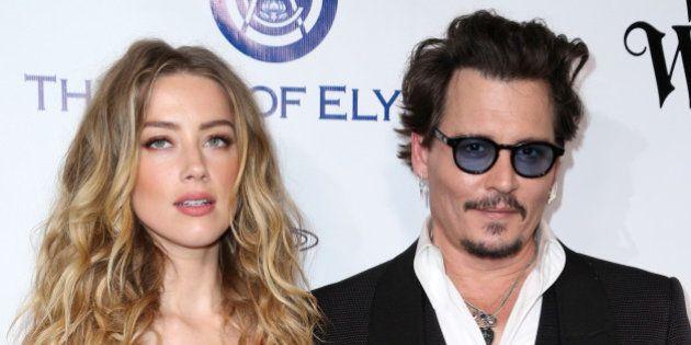 Amber Heard solicita una orden de alejamiento contra Johnny Depp por